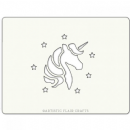 Artistic Flair - Cake Stencil - Magical Unicorn